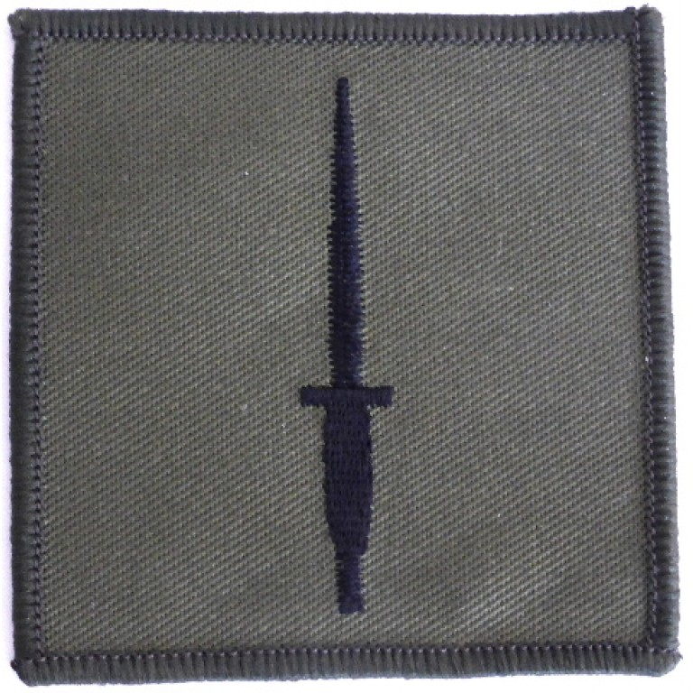 3 Commando Brigade Cloth Formation Sign Subdued