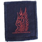 Royal Navy Commando Cloth Shoulder Title