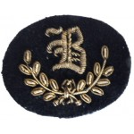 """B"" Class Tradesman Bullion Wire Qualification Arm Badge"