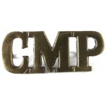 Corps Of Military Police Brass Shoulder Title 18mm