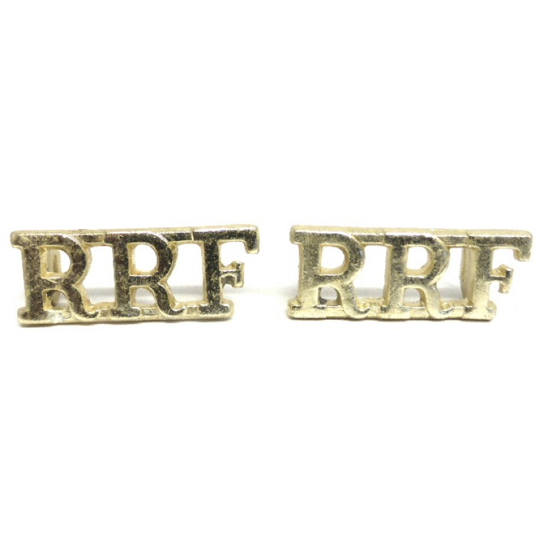 Royal Regiment Of Fusiliers Anodised Aluminium Shoulder Titles