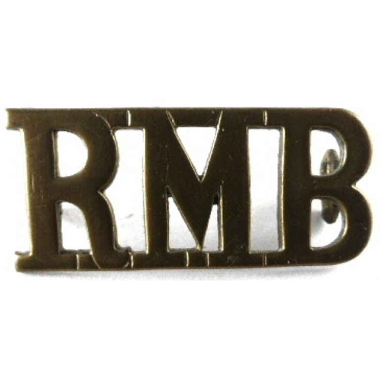 Royal Marine Band Brass Shoulder Title