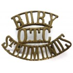Bury/O.T.C./St.Edmunds Brass Shoulder Title