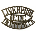 Liverpool/O.T.C./Institute Brass Shoulder Title