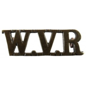 Women`s Volunteer Reserve WW1 Bronze Shoulder Title