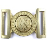 Berkhampsted School OTC Brass Buckle