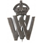 Volunteer Worker WW1 Bronzed Lapel Badge