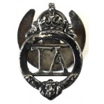 Territorial Army Pre 1953 Silvered Lapel Badge