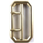 Military Brass Buckle for 2 Inch Belt