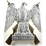 Royal Scots Dragoon Guards Bi Metal Pouch Badge