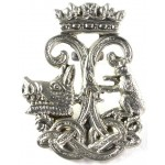 Argyll & Sutherland Highs.White Metal Sporran Badge