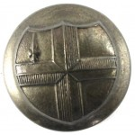 City Of London Police Brass Button 22.2mm
