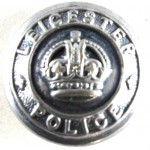 Leicester Police Large Chrome Button 24mm