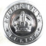 Bournemouth Police Large Chrome Button 24mm