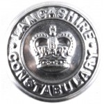 Lancashire Constabulary Large Chrome Button 24mm