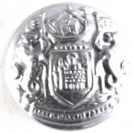 Port Of London Authority Large Chrome Button 23mm