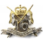 16/5th The Queens Lancers E11R Officers Beret Badge