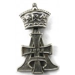 19th Royal Hussars White Metal