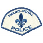 Canada Mount-Royal Police Cloth Patch