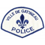 Canada Ville De Gatineau Police Cloth Patch