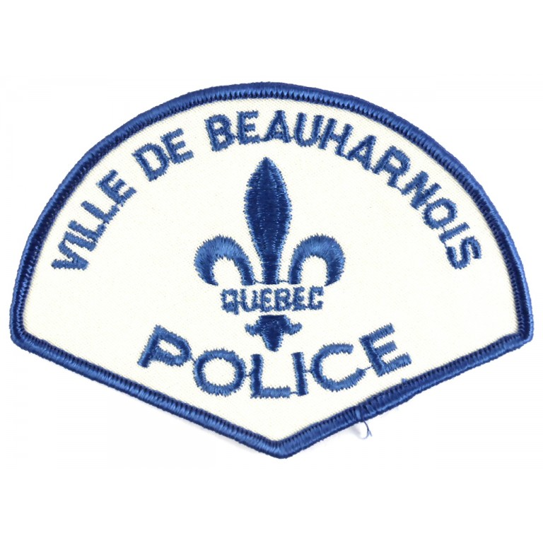 Canada Ville De Beauharnois Police Cloth Patch