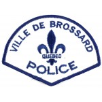 Canada Ville De Brossard Police Cloth Patch