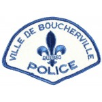 Canada Ville De Boucherville Police Cloth Patch