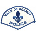 Canada Ville De Granby Police Cloth Patch