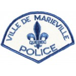 Canada Ville De Marieville Police Cloth Patch