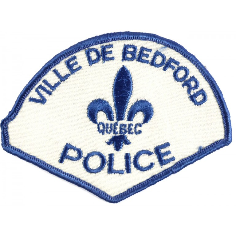 Canada Ville De Bedford Police Cloth Patch