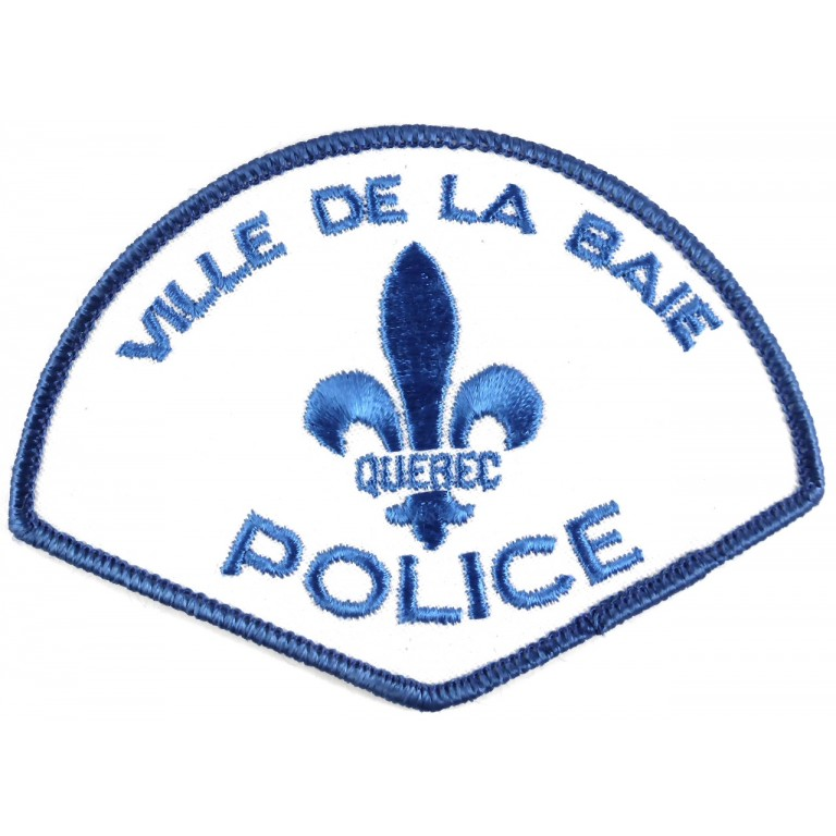 Canada Ville De La Baie Police Cloth Patch