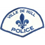 Canada Ville De Hull Police Cloth Patch