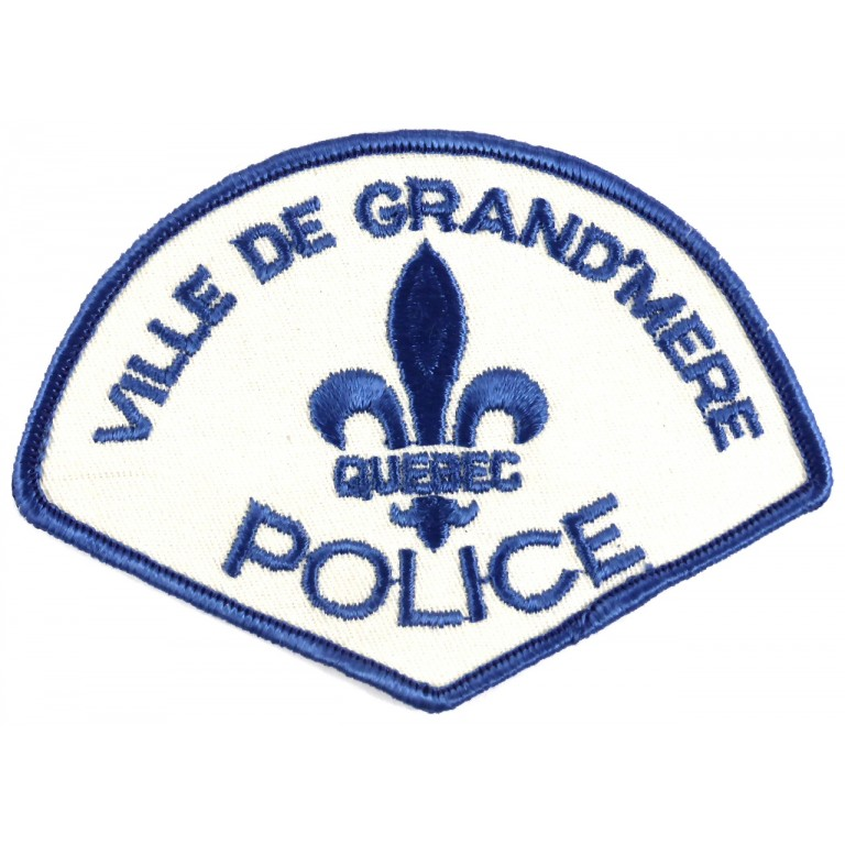 Canada Ville De Grand`Mere Police Cloth Patch