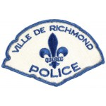 Canada Ville De Richmond Police Cloth Patch
