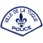Canada Ville De Tuque Police Cloth Patch