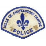 Canada Ville De Chateauguay Centre Police Cloth Patch