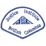Canada Justice Institute British Columbia Cloth Patch