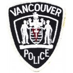 Canada Vancouver Police Cloth Patch
