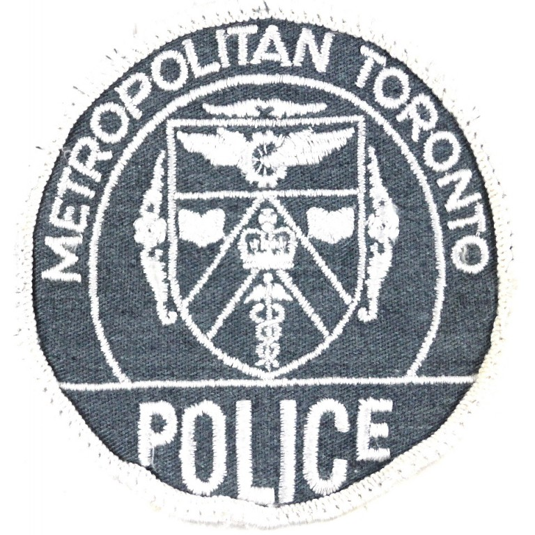 Canada Metropolitan Toronto Police Cloth Patch