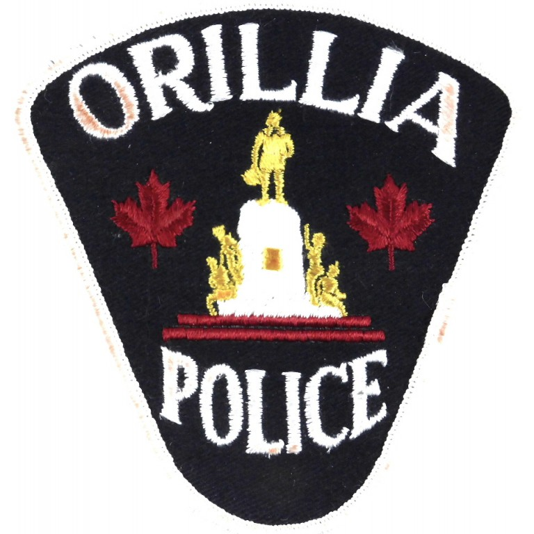 Canada Orillia Police Cloth Patch