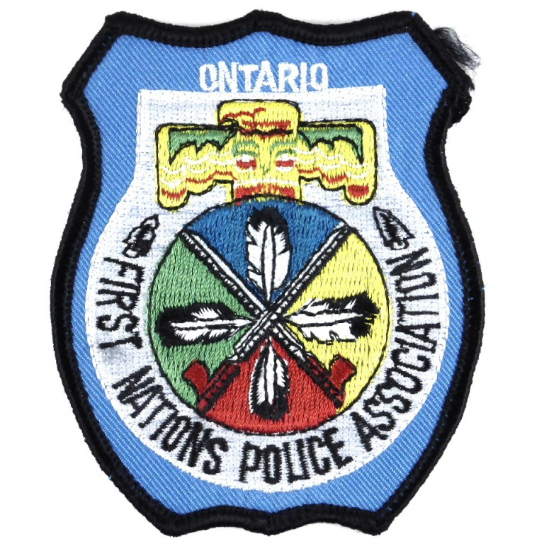 Canada Ontario First Nations Police Association Patch