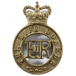 The Life Guards E11R Brass Cap Badge