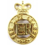 The Life Guards E11R Officers Gilt Cap Badge