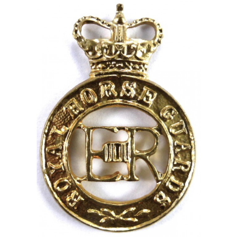 Royal Horse Guards E11R Brass Cap Badge