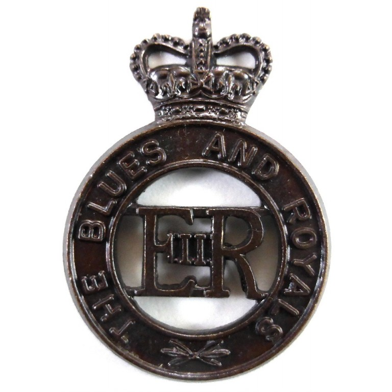The Blues And Royals Bronzed Cap Badge