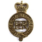 Household Cavalry E11R Brass Cap Badge