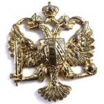 1st Kings Dragoon Guards Brass Cap Badge