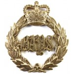 2nd Dragoons The Queens Bays E11R Brass Cap Badge