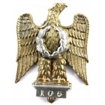 1st Royal Dragoons Bi Metal Post 1949 Cap Badge