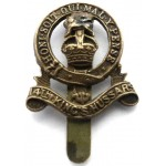 14th Kings Hussars Brass Cap Badge Small Variety